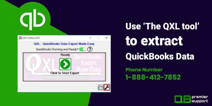 How to Use 'The QXL tool' to extract QuickBooks Data